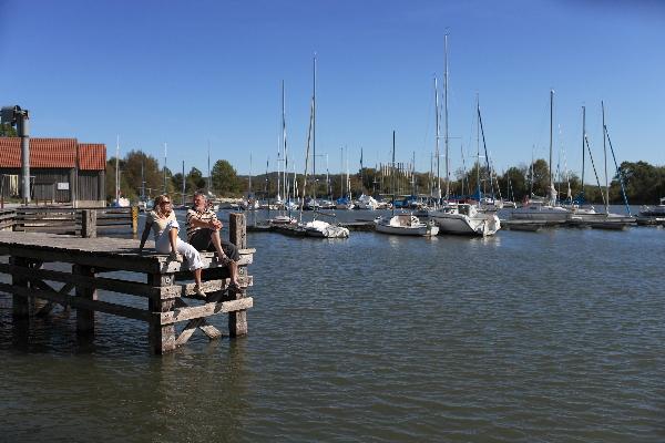 Hafen am Altmühlsee
