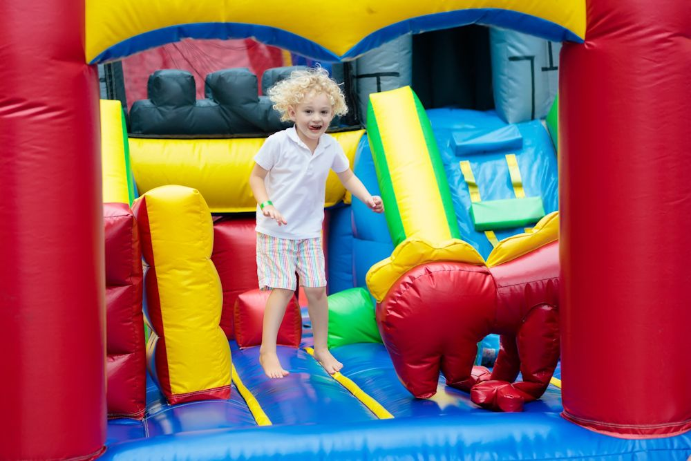 Indoorspielplatz für die Kleinen