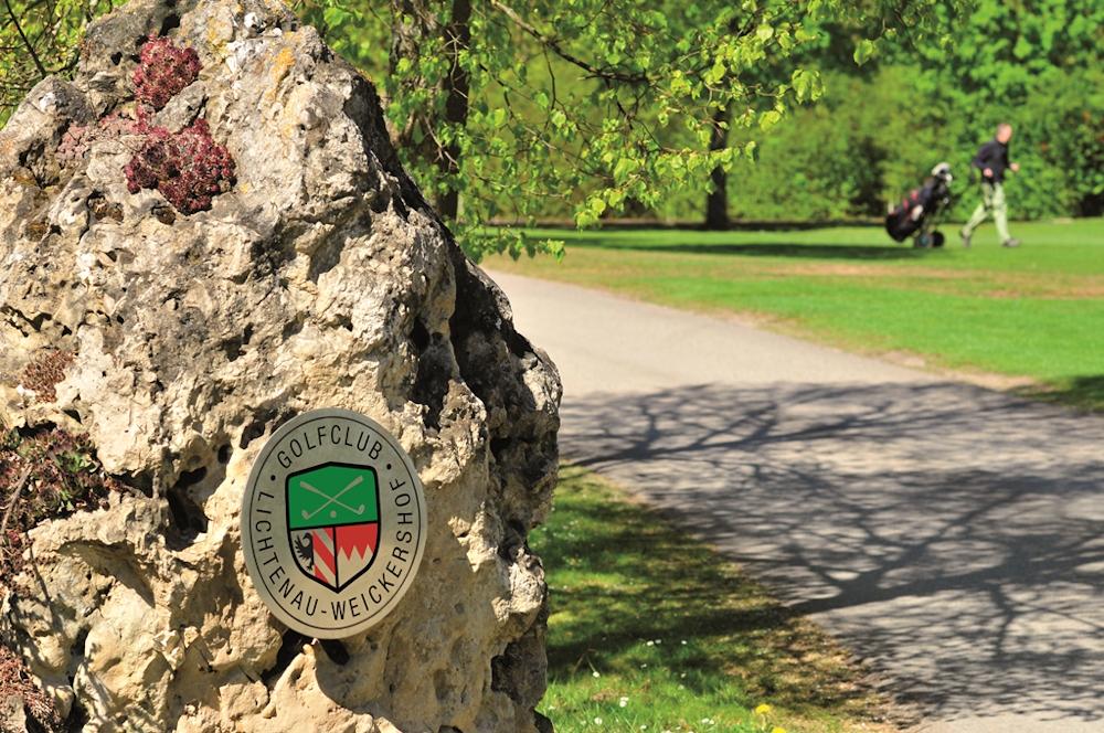 Wappen des Golfplatzes