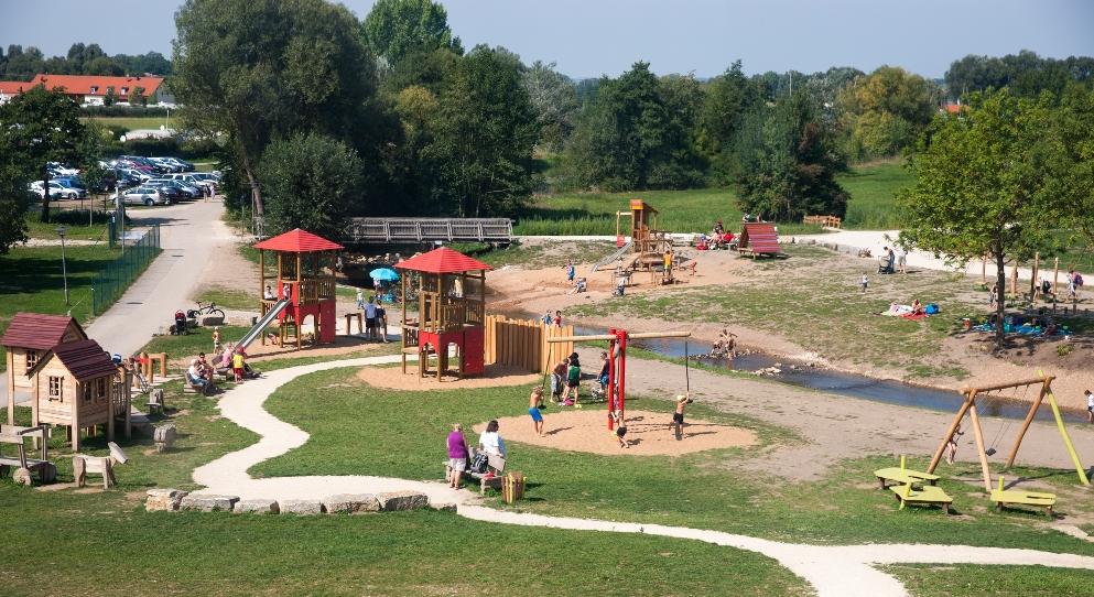 Spielplatz für die Kinder am Altmühlsee