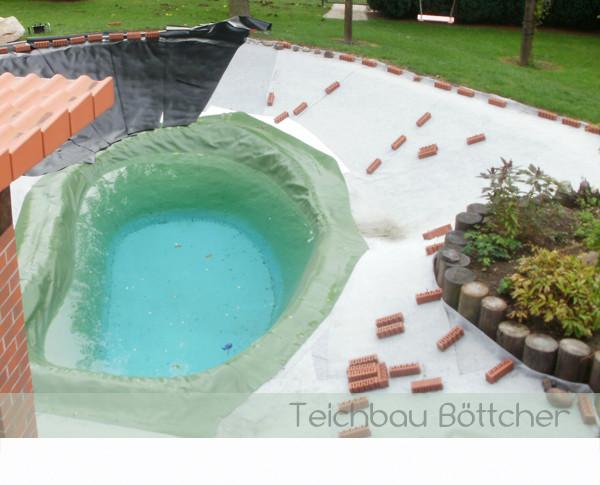 Beliebt Folienteiche - Pool- und Teichbau mit faltenfreier Folie QQ61