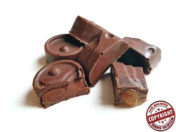 recette chocolat de noël maison sans GLO