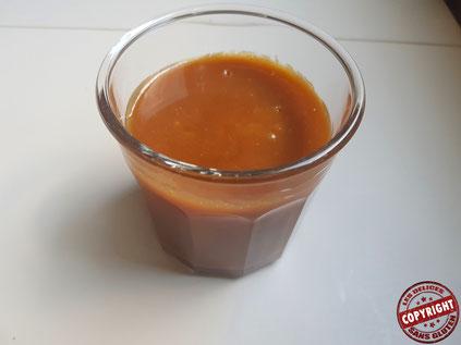 recette caramel à tartiner au beurre salé sans gluten sans oeuf (sans lactose)