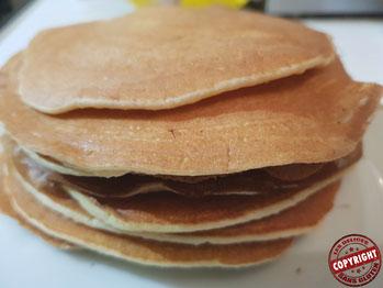 recette pancakes sans gluten sans lactose