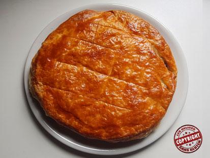 recette tourte au poulet champignon jambon sans gluten sans lactose