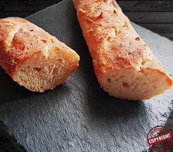 recette pain baguette sans GLO