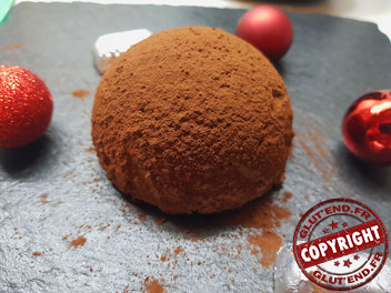 recette dôme choco-framboise spéculoos sans gluten sans lactose