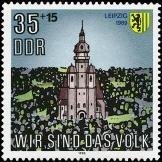 Bild: Sonderbriefmarke der DDR