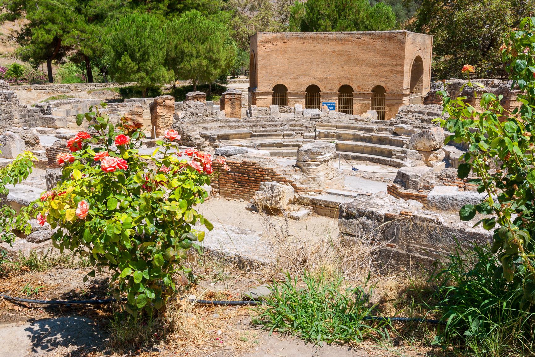 Gortyne : odéon romain