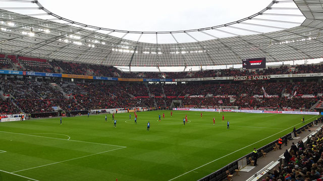 Stadionbezoek Bayer Leverkusen