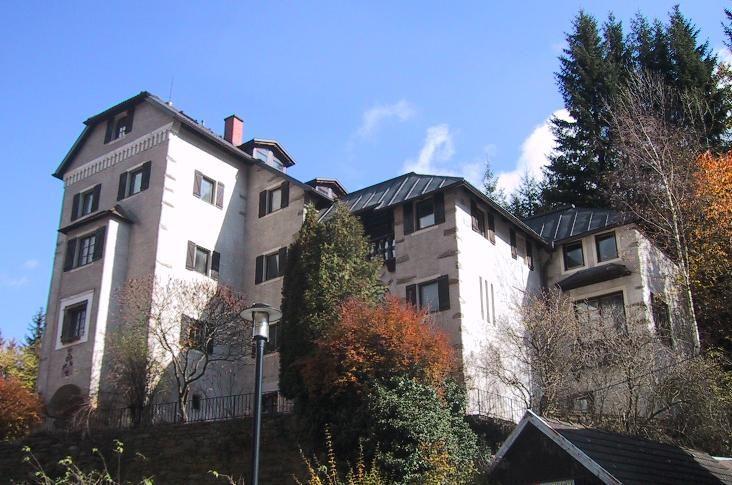 (Burg) Schloss Süßenstein - JETZT Bick aus Südwest