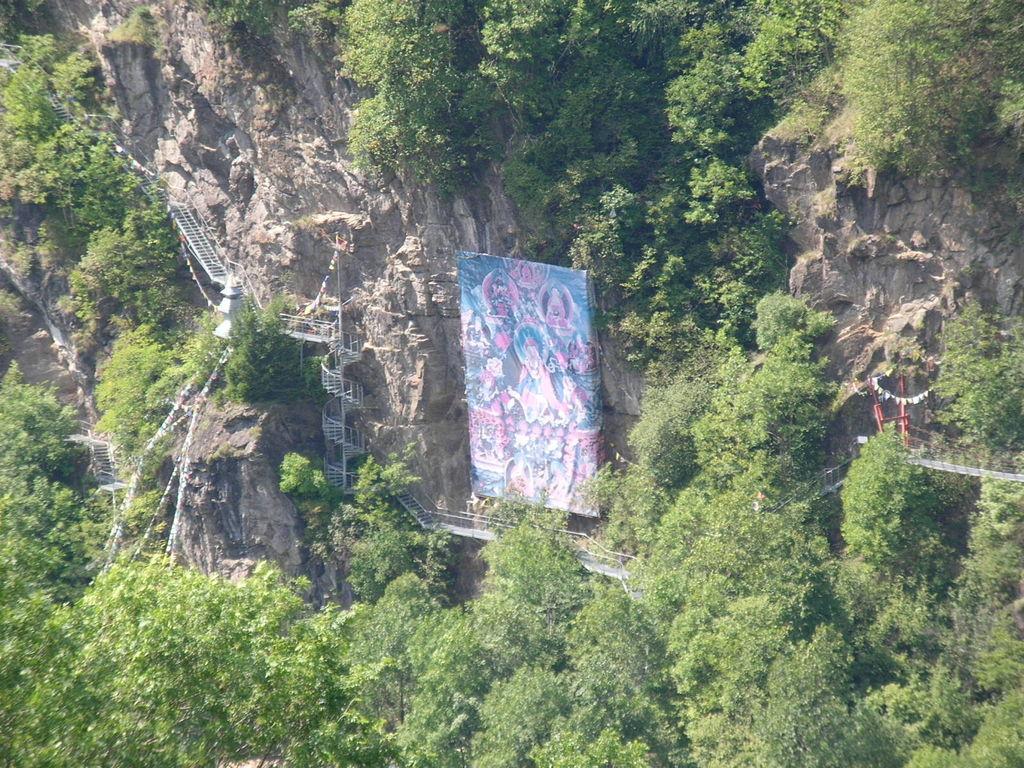 Linkor Hüttenberg --- Blick aus (Burg) Schloss Süßenstein