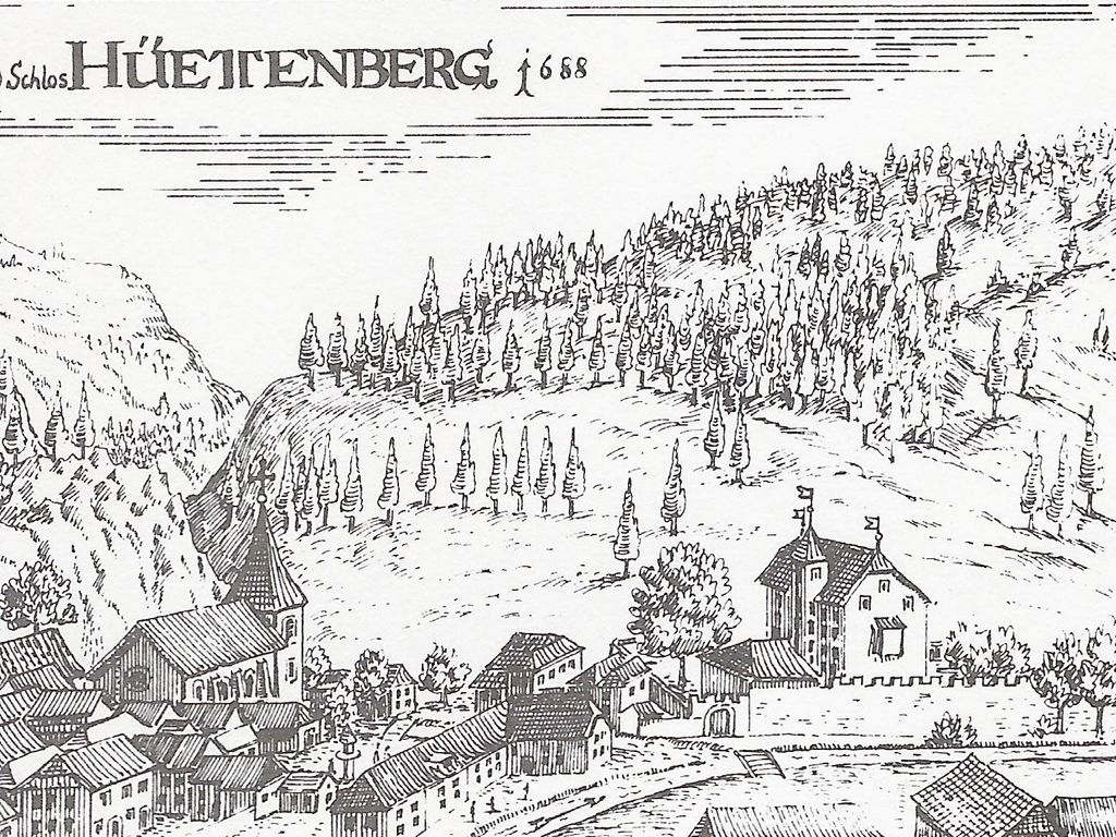 (Burg) Schloss Süßenstein - EINST