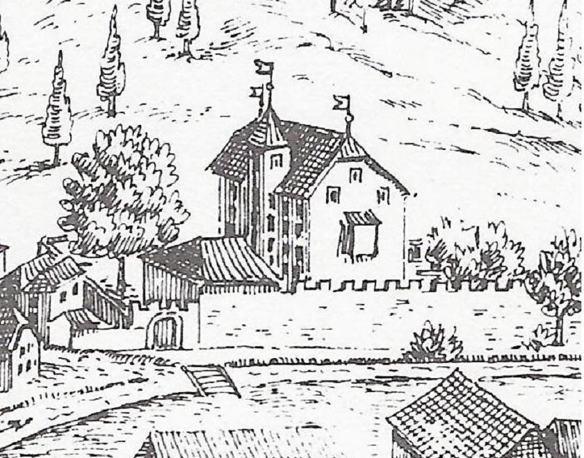 (Burg) Schloss Süßenstein - EINST - Ausschnitt 2