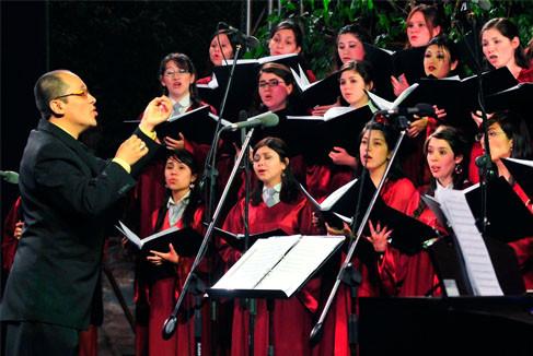 El efecto Lombard en la música coral