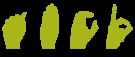 Contratar para determinadas ocasiones un intérprete de señas.