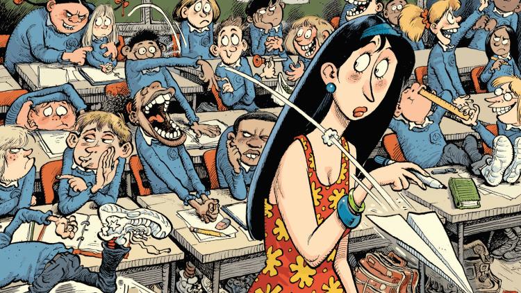 La mayoría de las aulas son demasiado ruidosas.