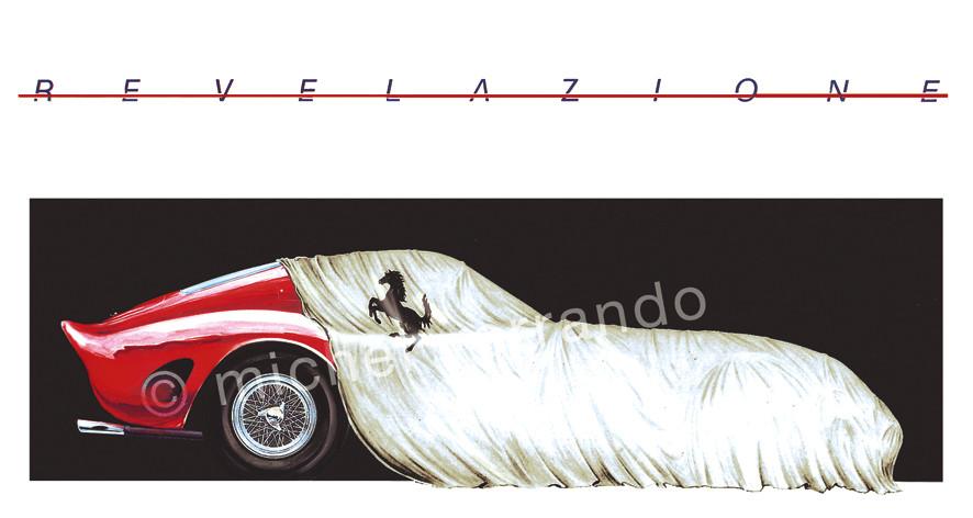 Revelazione Gouache 65x50cm