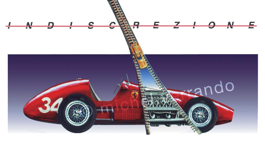 Indicresione Gouache 65x50cm + Reproduction 60x40cm