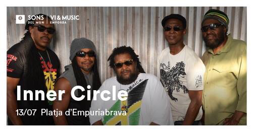 "Live Concert von ""Inner Circle"" am 13.7.2018 in Empuriabrava"