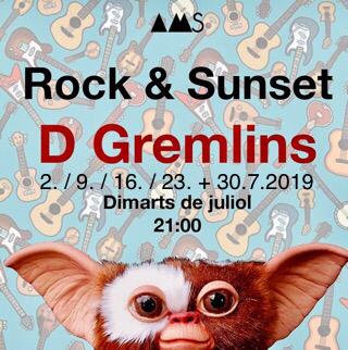 Am 17.7.2019 um 21 Uhr in der Bar vom Restaurant AMS am Strand von Empuriabrava + jeden Dienstag im Juli, Rock & Roll