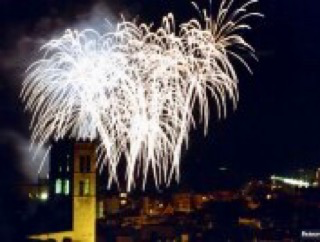 Internationales Feuerwerk-Festival in Blanes vom 21.-17.7.2018