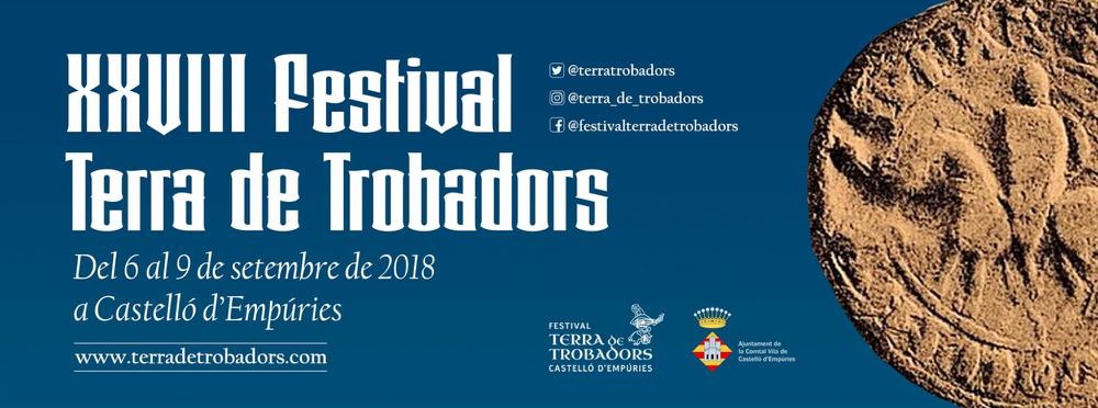 """Das bekannte Mittelalter-Fest """"Terra de Trobadors"""" in Castelló d'Empúries vom 6. bis 9.9.2018"""