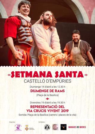 14.4. ab 12:30 Uhr + 19.4.2019 ab 19:30 Uhr in Castelló d'Empúries