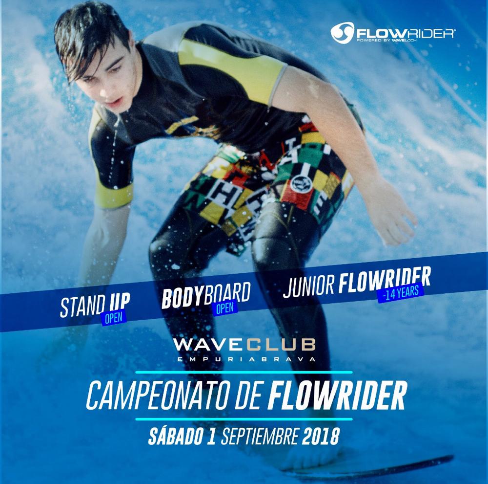 """""""Flowrider-Championat"""" im Wave Club Empuriabrava - 1.9.2018"""