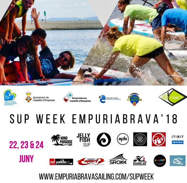 SUP Paddel-Tage in Empuriabrava 22-24.6.2018