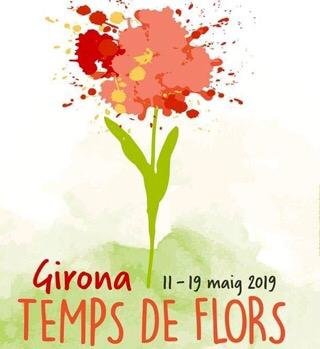 60 Jahre Blumenfest in Girona vom 11. bis 19.5.2019