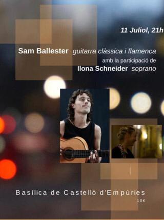 Konzert am 11.7.2019 um 21 Uhr in der Basilika von Castelló d'Empúries