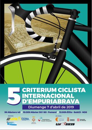 Radrennen - 7.4.2019 von 9:30 bis 13:30 Uhr, Passeig Maritim in Empuriabrava