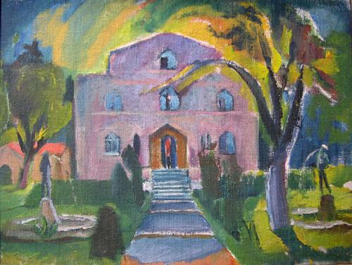 """Bild """"Künstlerhaus"""" von Fritz Steisslinger"""