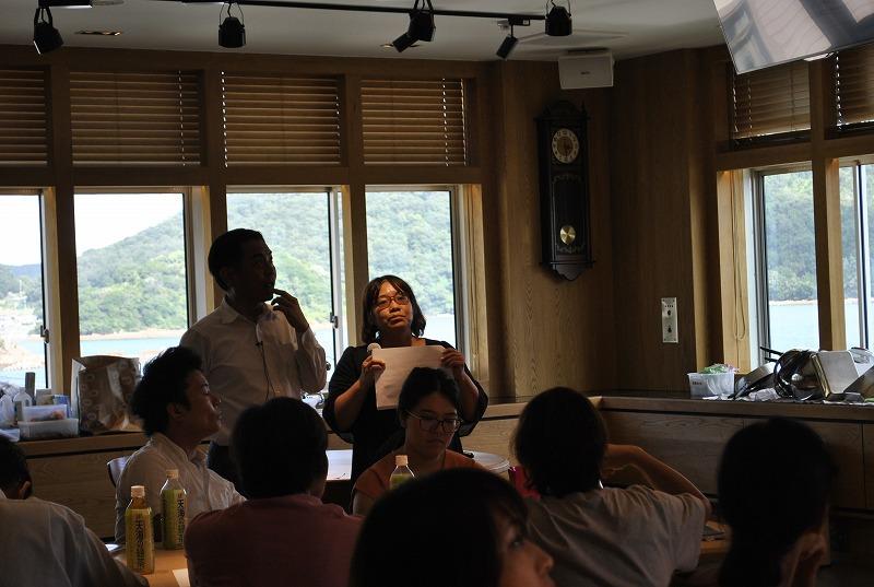 難波先生とライターの磯本さんによるSNS活用セミナー