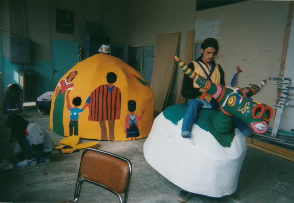Pavillon Amérique latine - Festival de marionnettes de Charleville