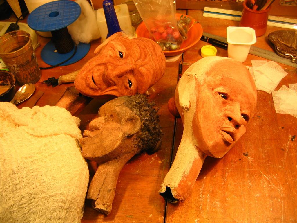 les 3 marionnettes de Kassa
