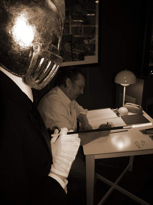 Mr Choc et son créateur-dessinateur Eric Maltaite - Editions DUPUIS