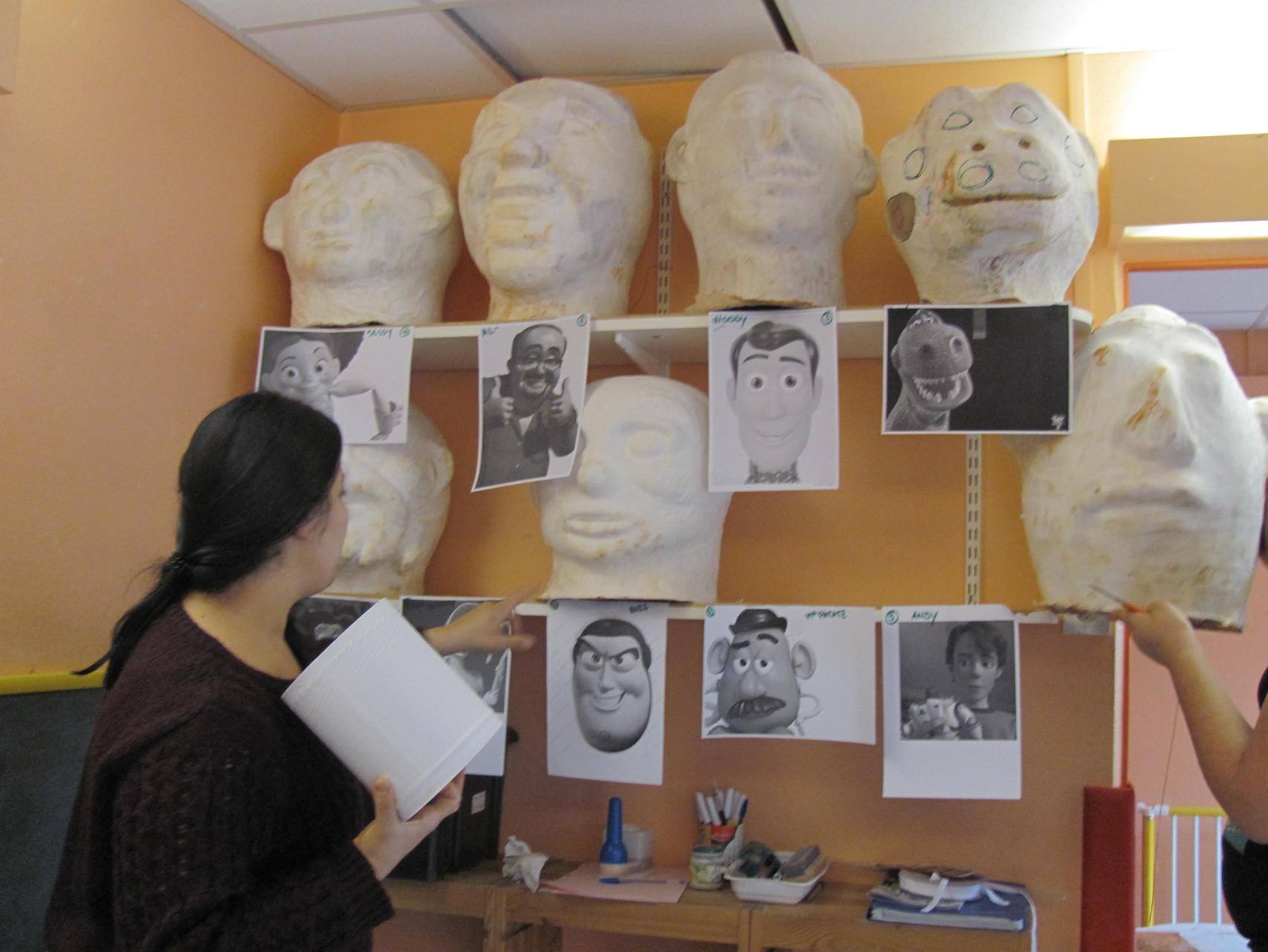 la galerie de masques