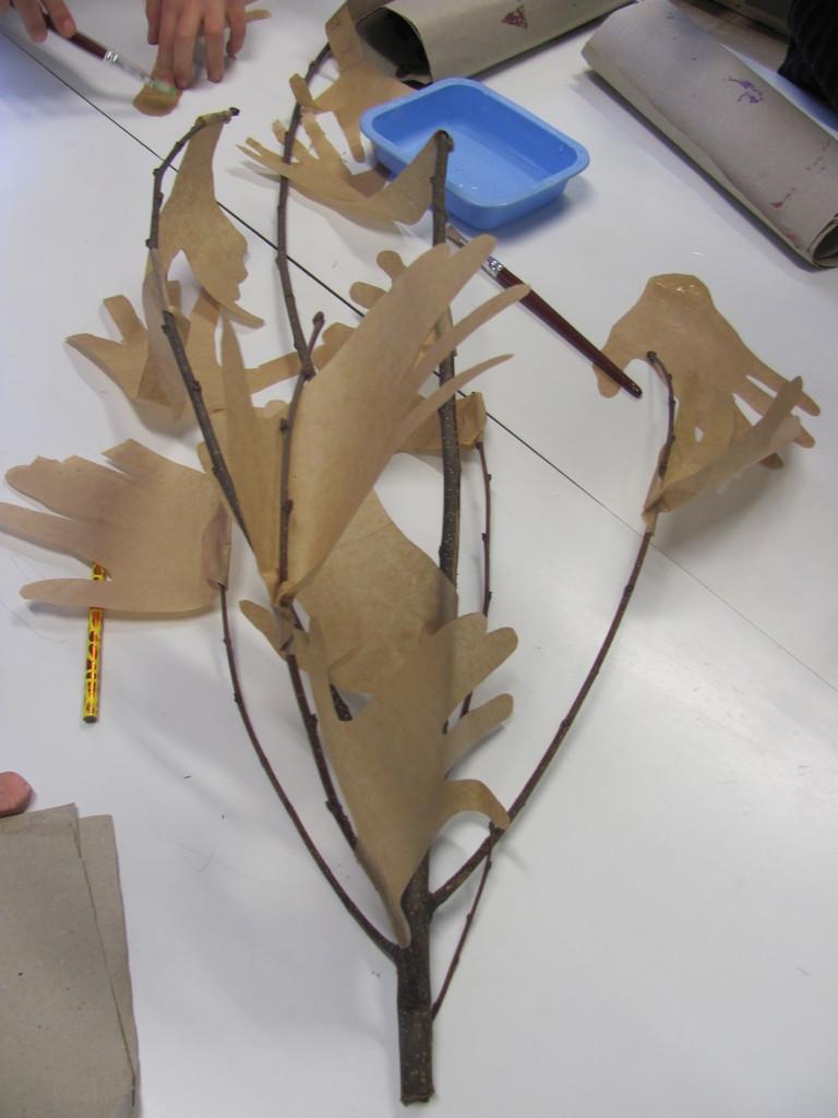 l'arbre se forme