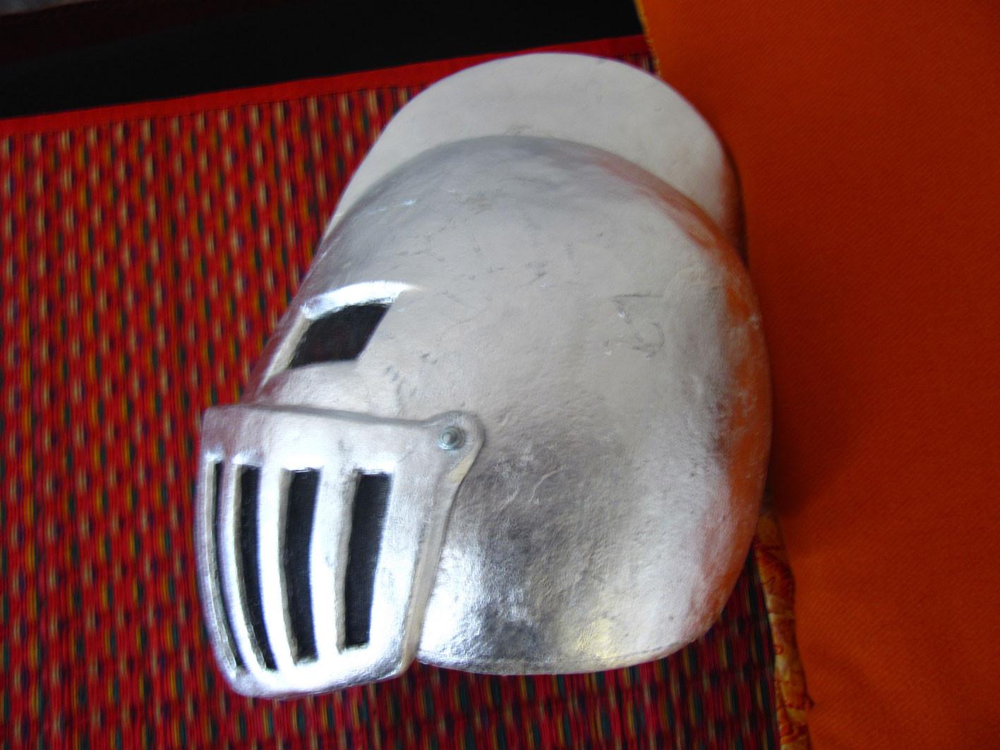le masque dans l'atelier