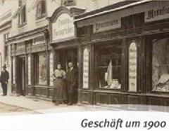 Geschäft um 1900