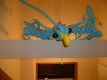 幸せの青い鳥(160風船バージョン)