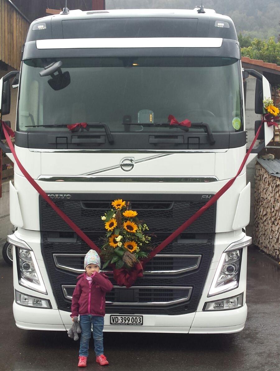 Décoration calandre camion