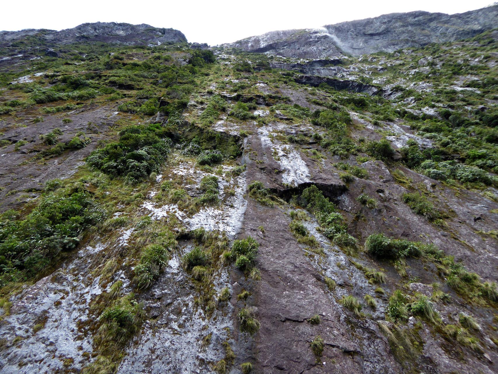 Geeeewaltige Felswände