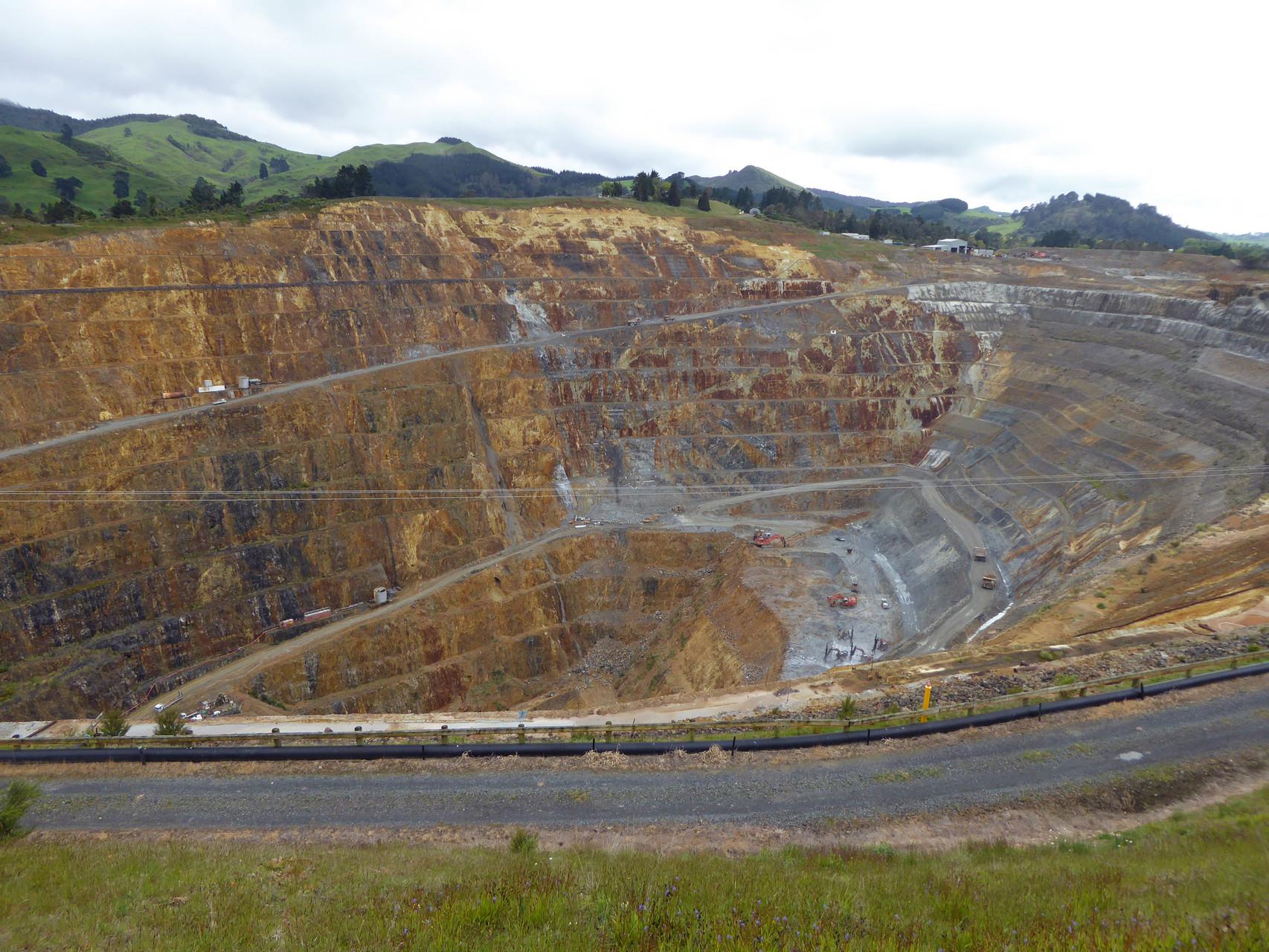 Goldgrube in Wahihi