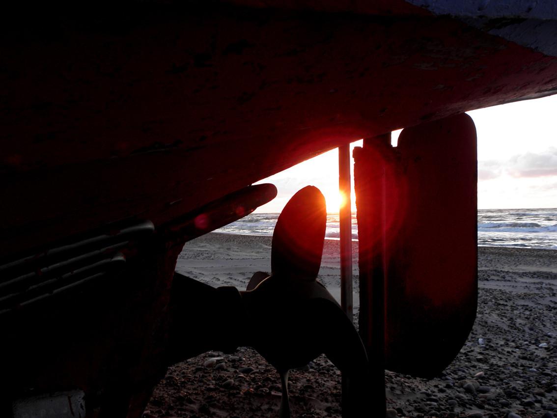 Sonnenuntergang Thorupstrand