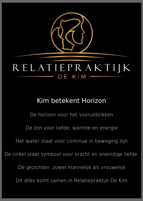 Relatiepraktijk De Kim betekent: De horizon