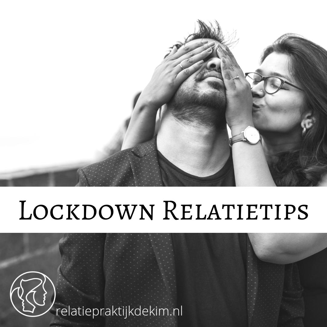 Lockdown Relatietips