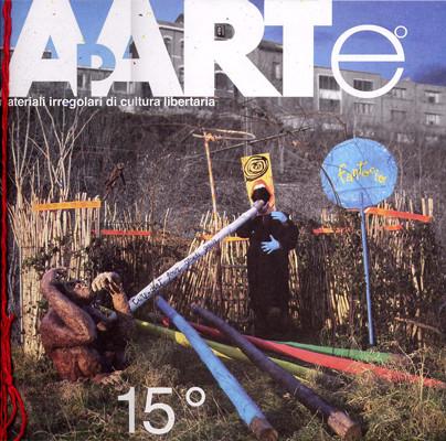 il numero monografico dedicato ad Alfred Jarry, che contiene la mia opera STUZZICADENTI CADENTI